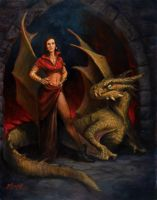 Lady and the Dragon Year 2 by BrittMartin