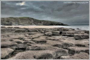 HDR A Stormy Bad Wolf Bay by Rovanite