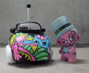 My First Munny by drewfunk