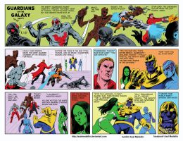 TLIID 242. Guardians of the Galaxy, Golden Age by AxelMedellin