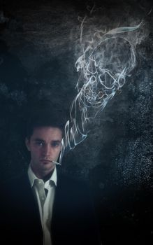 L'homme fume by Brice77120