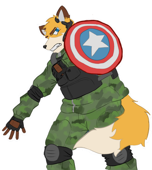 Captain Shukin by ShukinTheFox