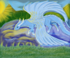 Cloudling Water Dance by Reithya