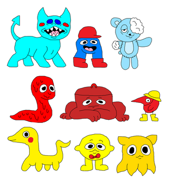 primary color adopts open by piss-party