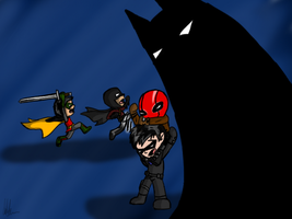 The Bat Family by Maygirl96