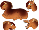 Pell doodles by Quadrupedal