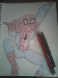 The Amazing Spider-Man by cloakedinred247