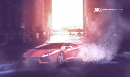 LAMBORGHINI WALLPAPER BY MUAMER KERANOVIC by muamerART