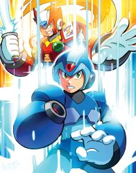 X and Zero, Reporting for Duty! by herms85