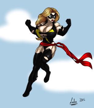 Ms. Marvel Commission by sheldor73