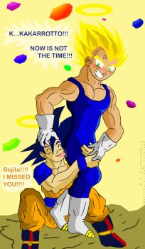 Vegeta Appears by Dbzbabe