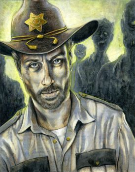 Rick Grimes, The Walking Dead by Lii-chan