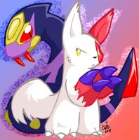 Zangoose and Seviper