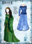 Brave Paper Doll Dresses Page: 2 by Cecilia-Pekelharing