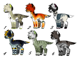 Canine Mini-auction by GalaxXXxyCat
