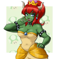 Bowsette by Maqqy96