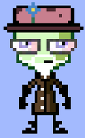 Old Man Zim Disguise Sprite by HonorAmongScars