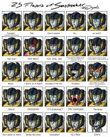 25 Flavors of Sunstreaker by dryadic