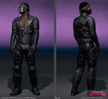 Spider In-Game character for Farcry 3 Blood Dragon by SLabreche