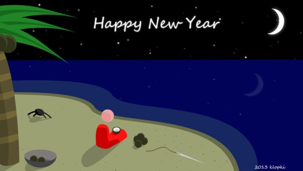 The Ocean Around Me - Happy New Year by klopki