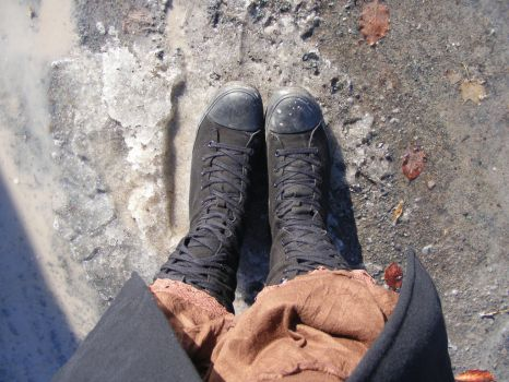 (Frost) Rime of the Ancient Sneaker Boots by OllyHymnia