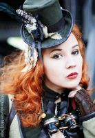 Portrait Miss Arthemis Steam by MADmoiselleMeli