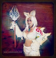 JTanooki Okami cosplay Ai-kon 2015 by VisualEyeCandy