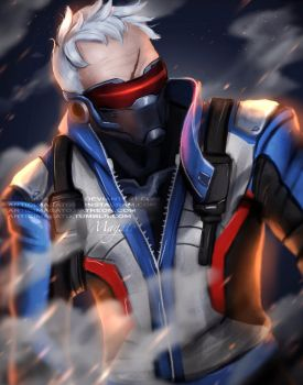 Soldier76 by magato98