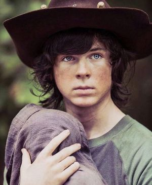 The Walking Dead Carl Grimes X Reader Protect By 4v3ng3d