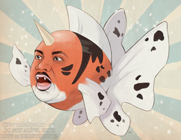 Martin Luther Seaking Jr. by mybirdy