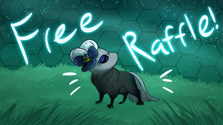 Free Raffle! And fundraiser for Witherlings~ by Red-Draws