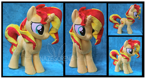 Sunset Shimmer Custom Plush by Nazegoreng