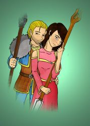 Anders and Anette Hawke by TenKaulitz