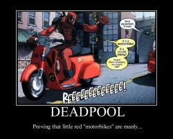 Deadpool Poster by LillithMalice