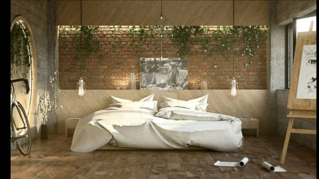 Master Bedroom by Arch-M-Mohsen