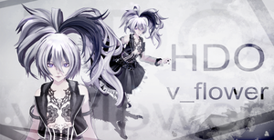 [MMD model download] HDO v_flower [LINK UPDATED!] by Hidaomori