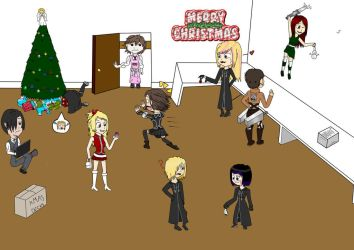Merry Christmas 2014 by Haxisal-XIII
