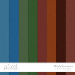Plainly Renaissance // Solid Coloured Papers by pixelinmypocket