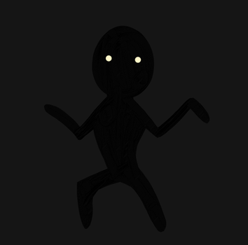 Shadowy figure(Lisa the Painful) by CynicaLNightshade02