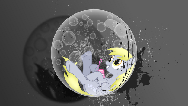 Derpy Bubble Wallpaper by Flashed00