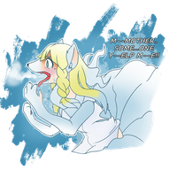 S-NO Warning: Lillie's Alolan Ninetales TF by FezMangaka