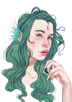 Ophelia by Anolee