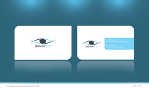 Revelation photo business card by Fictionfourtyfour