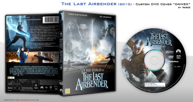 The Last Airbender DVD Cover by yaxxe