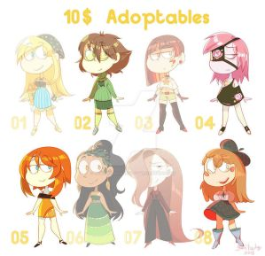 adoptables batch [4/8 OPEN] by gobithedogsadopts