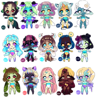 [OPEN] Adoptables Price DOWN by jultype