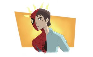 Spider-Sense Tingling by BoukenRed