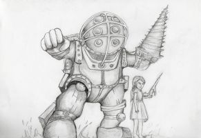 big daddy by ZeolithArt