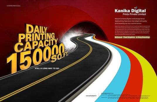 Kanika Digital Magazine Ad by niteshsh
