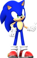 Sonic rush hd pose 1 by Toasted912